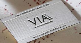 Wizytówka papierowa